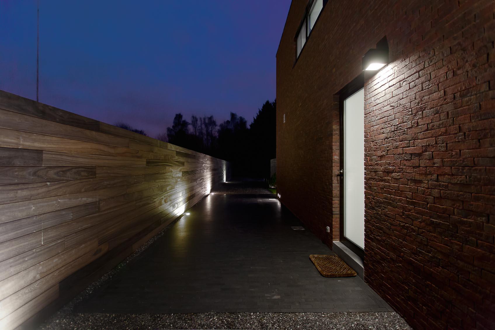 Moderne nieuwbouwwoning een lichtplan op maat