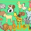 *無料素材サイト、イラストAC新作‐動物イラストを投稿しました。