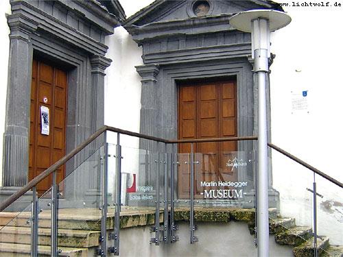 Das Heidegger-Museum in Meßkirch