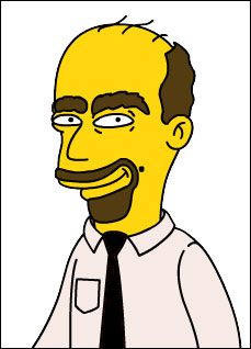 Schneidegger in den Simpsons