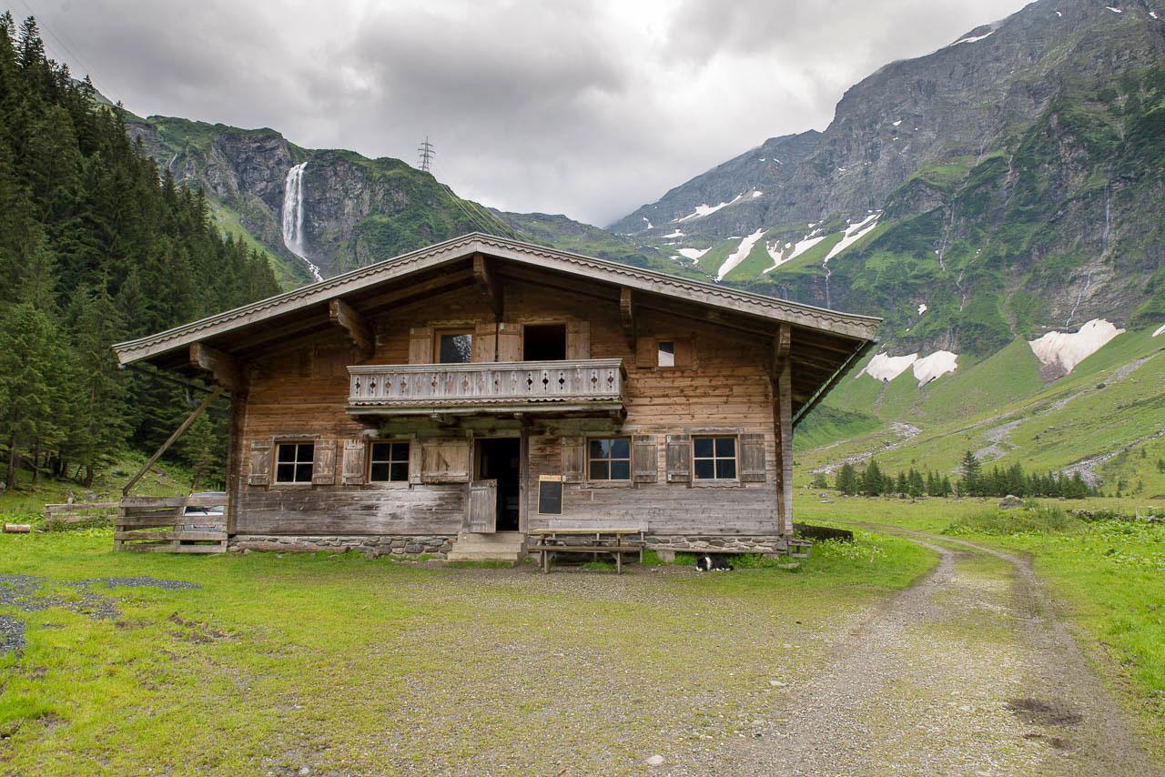 Hütte auf der Hinterseealm