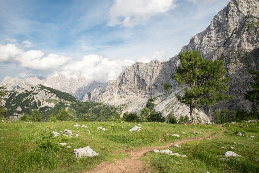 Wanderweg mit grandioser Aussicht