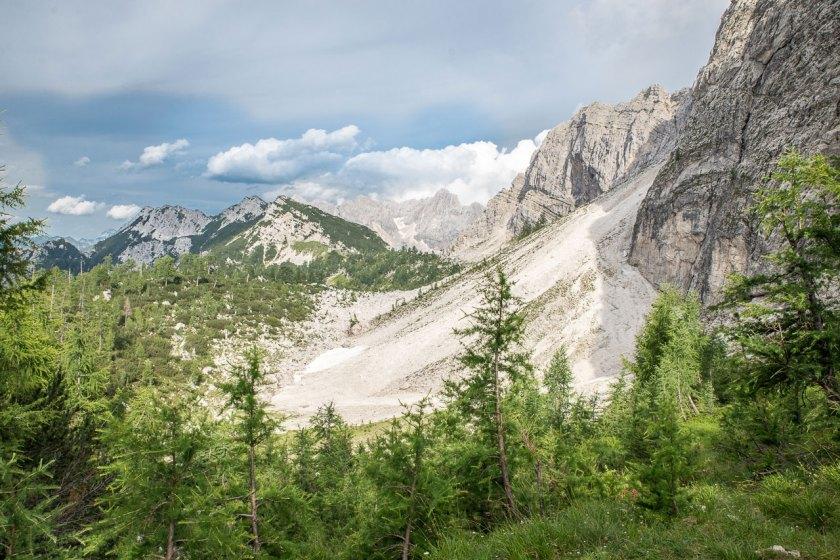 Wunderschöne Aussichten auf die umliegenden Berge