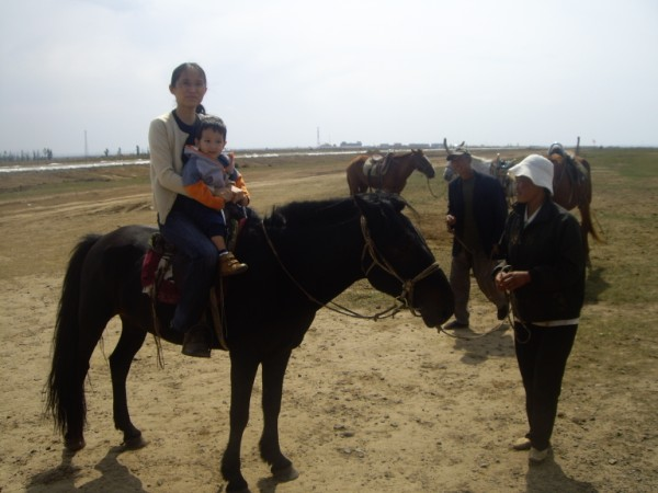 רכיבה על סוסים במונגוליה