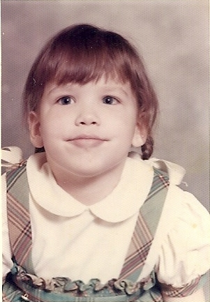 Licia, age 5 and my Shero