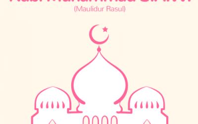 先知穆罕默德诞辰公共假期  Cuti Umum Hari Keputeraan Nabi Muhammad S.A.W.