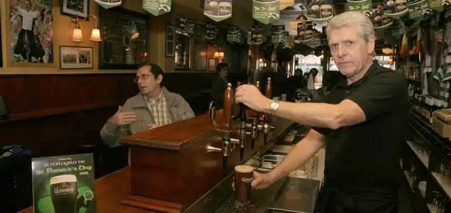 Descenso en el consumo de cerveza en Reino Unido