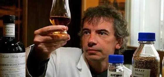 Gasolina gracias al Whisky Escocés