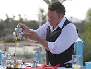 Bombay Sapphire corona al bartender mas imaginativo el mundo