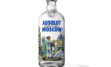 Absolut vodka lanza: Absolut Moscow