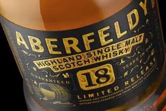 Bacardi lanza Aberfeldy 18 Años