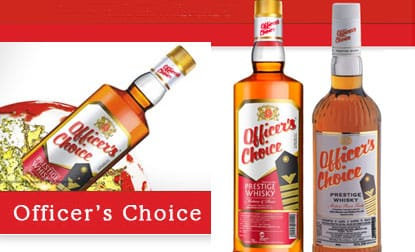 La marca mas vendida del mundo: Officer's Choice