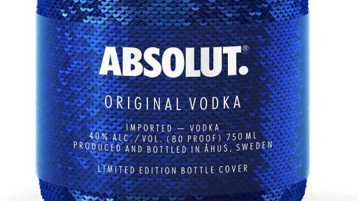 Nueva edición limitada de Vodka Absolut: Absolut Sequin