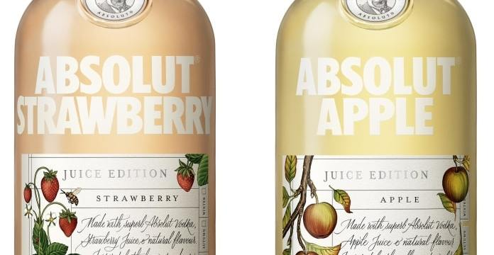 Nueva edición limitada de Absolut: Absolut Juice Edition