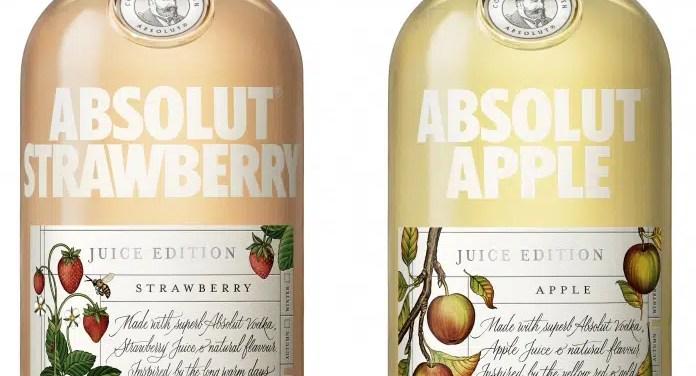 Nueva edición limitada de Absolut: Absolut Juice Edition