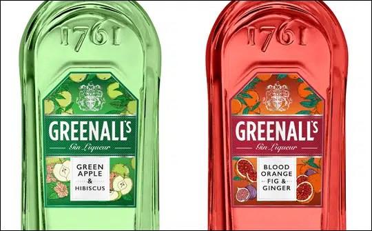 Greenall's amplia sus ginebras con sabores