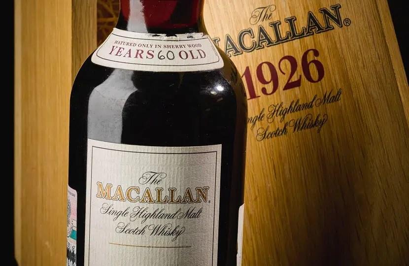 The Macallan 1926 El Whisky mas caro del mundo