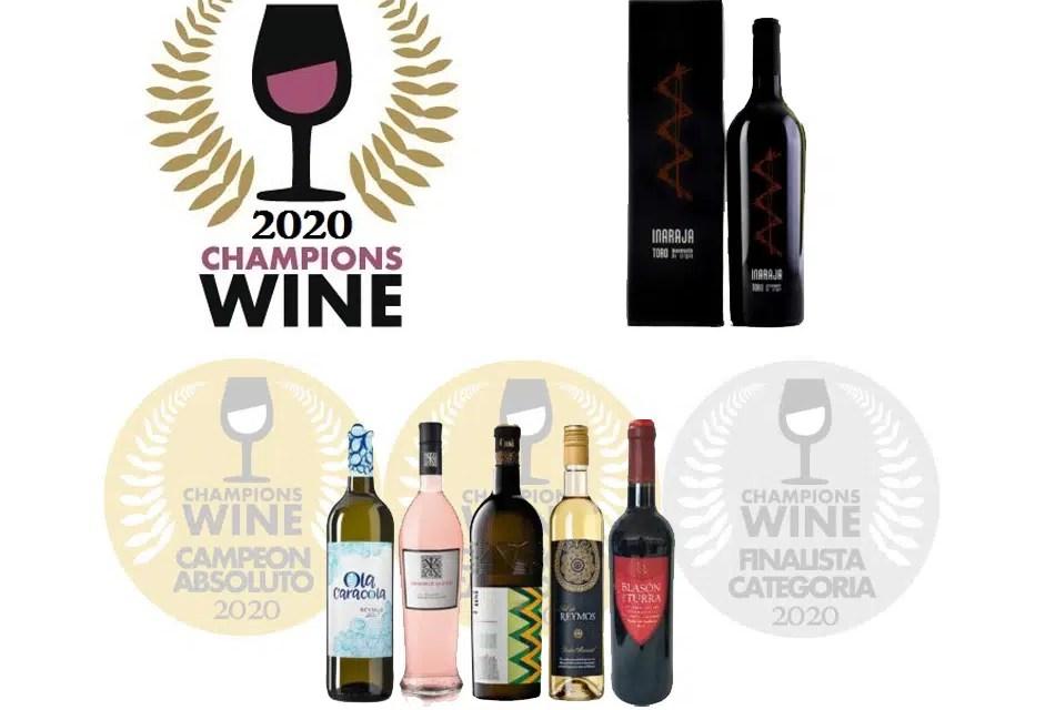 Medallero del Champions Wine 2020