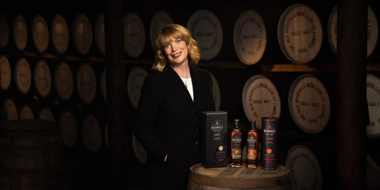 Helen Mulholland, la mujer detrás de Bushmills, la 1ª mujer maestro destilador de Irlanda