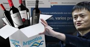 vinos argentinos Alibaba