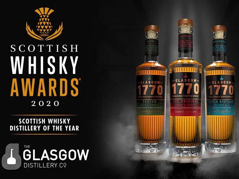 Destilería de Glasgow, reina del whisky escocés este 2020