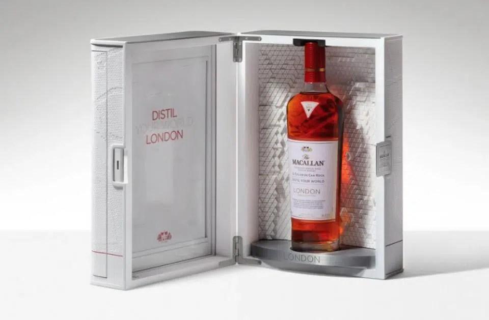 Macallan, nuevo whisky de edición limitada, está en Londres