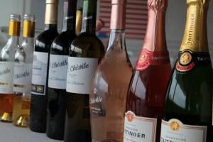 Algunos vinos de la cata de Chivite