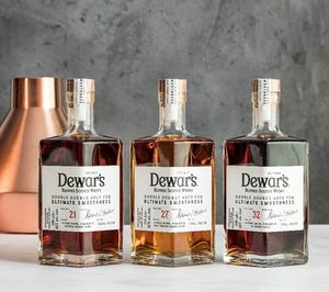 Bacardí propone 3 whiskies ultra prémiumde mano de Dewar's
