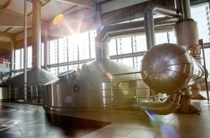 La fábrica de cerveza de Estrella Galicia