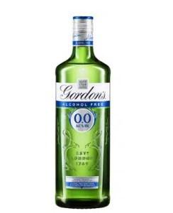 Gordon's sin alcohol es una reciente creación de Diageo.