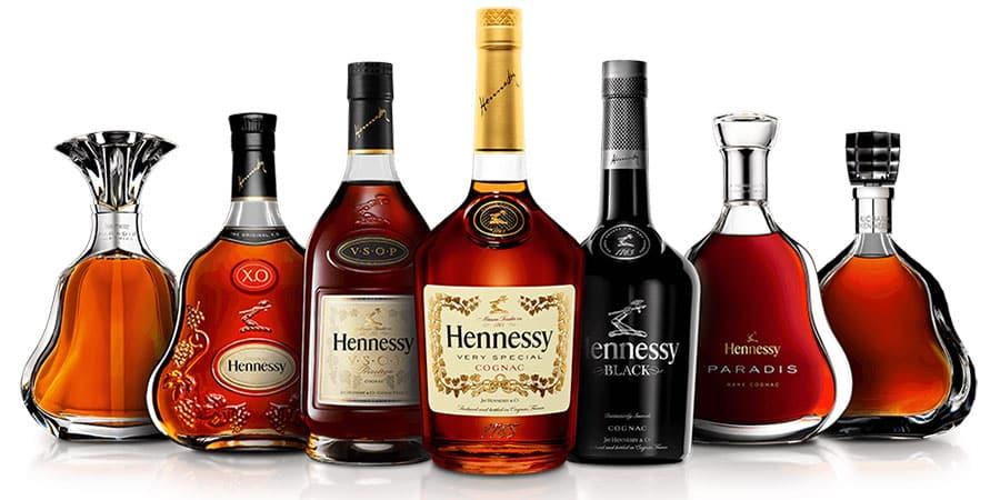 Hennessy es la marca  de coñac No.1 en ventas en EE. UU.