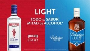 La versión light de Ballantine's y Beefeater