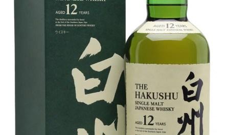 Whisky japonés Suntory Hakushu 12 años regresa con fuerza