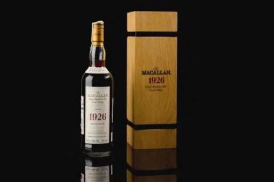 El Macallan 1926 60 años de edad fino y raro