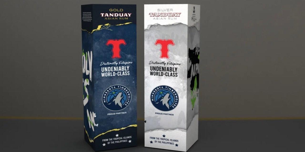 Tanduay y su sociedad con Minnesota Timberwolves en 2021