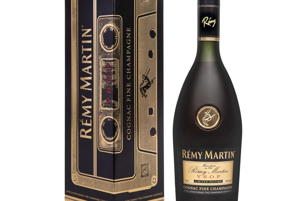 Rémy Martin trae de vuelta el diseño de Mixtape de 1980