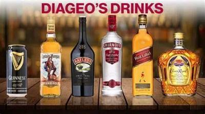 Diageo comercializa una amplia gama de bebidas