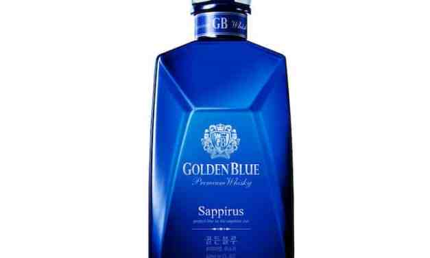 Golden Blue Sappirus: 1er.whisky coreano vendido en Estados Unidos