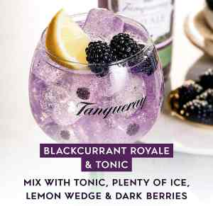 Tanqueray Blackcurrant la nueva ginebra de Tanqueray gin ¿la 1ª Ginebra con botánico de orquídeas negras? 1