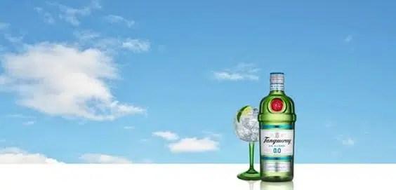 Diageo lanza Tanqueray 0,0%, nueva propuesta ahora sin alcohol