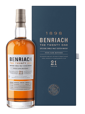 BenRiach The Twenty One Single Malt Scotch Whisky