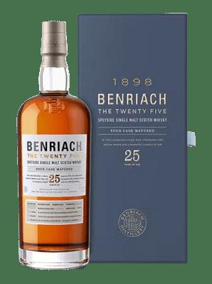 BenRiach The Twenty Five Single Malt Scotch Whisky