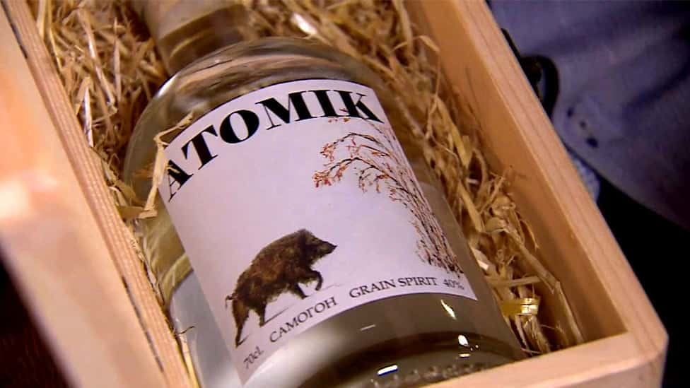 Atomik, 1.er producto de consumo que sale Chernóbil, es incautado por autoridades ucranianas