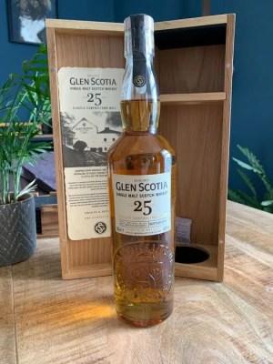 Whisky de malta Glen Scotia de 25 años