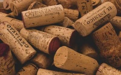 Los vinos tapados con corchos