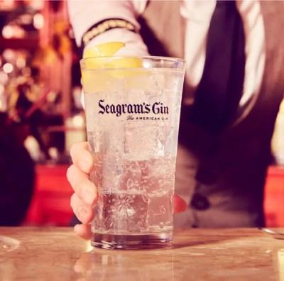 El primer gin de Seagram's