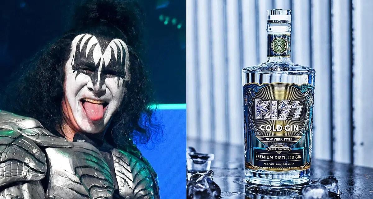 Cold Gin, la ginebra más rockera del mundo, es la novedad de Kiss para 2021