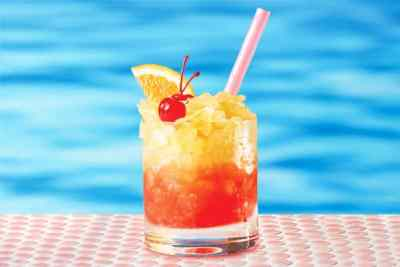 Cóctel Tequila sunris