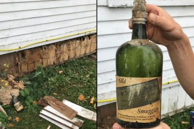 botellas antiguas de whisky