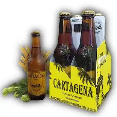 4Pack Cerveza Artesanal Cartagena Oro 330 ml